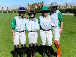 A trip to the Desert and the ultimate polo pony honor!!